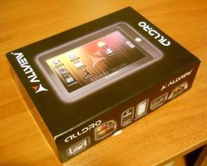 Tableta Allview AllDro, mai ieftina cu 300 de lei