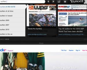 Yahoo! a lansat browserul web Axis pentru iPhone si iPad