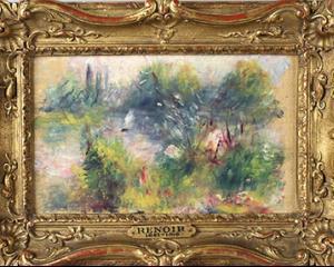 CHILIPIR DEZUMFLAT: Tabloul de Renoir cumparat cu 7 dolari nu poate fi vandut