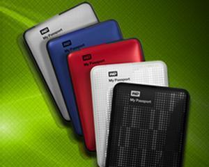 Western Digital a lansat un hard disk portabil cu capacitate de 2.000 GB