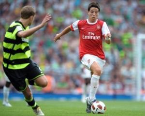 Samir Nasri de la Arsenal va castiga 116.000 de euro pe saptamana
