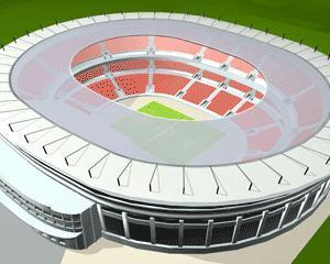 Stadion de 17.500 de locuri la Arad