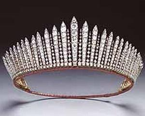Un jucator pasionat de pariuri spera sa castige 72.000 de lire sterline, dupa ce a pariat ca viitoarea sotie a printului William va purta tiara reginei