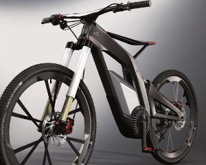 Audi prezinta o bicicleta electrica cu ecran tactil
