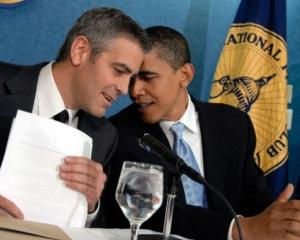 Strangere de fonduri la casa lui George Clooney: Obama a adunat 15 milioane de dolari pentru campanie