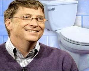 Bill Gates, de la IT la toalete ecologice