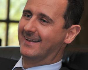 Bashar al-Assad vrea sa curete tara de teroristi