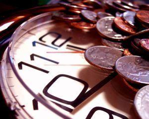 Cand timpul ti se scurge printre degete ca si banii