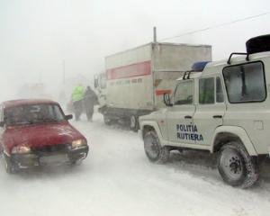 Trafic deviat pe DN1A pentru evitarea ambuteiajelor de pe Valea Prahovei