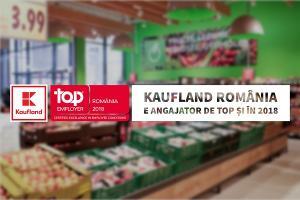 Angajator de Top si in 2018:  ecuatia de succes a companiei Kaufland