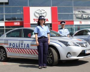 Ce masina primeste Politia Romana pentru aceasta vara