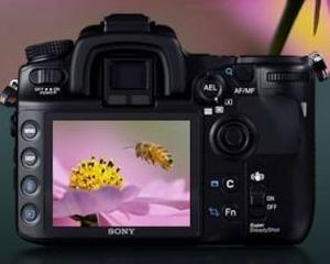Sony vrea sa acapareze 15% din piata aparatelor foto SLR, prin lansarea de noi modele
