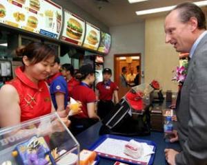 Concurenta pentru McDonald's in China