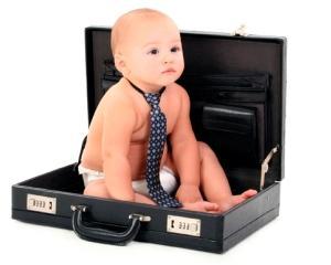 Dilema angajatorilor: Pot parintii sa vina cu copiii la locul de munca?