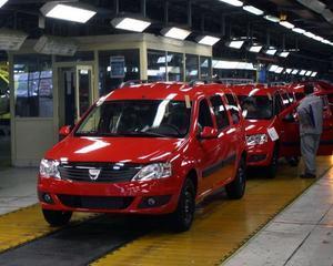 Inmatricularile Dacia in Europa au crescut anul trecut cu 15%