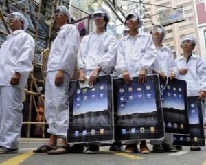 Foxconn a inchis temporar fabrica din China din cauza violentelor dintre angajati