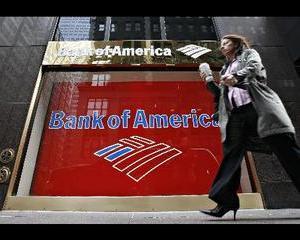 Profitul Bank of America a crescut, cel al Citigroup a scazut