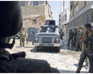 Siria mobilizeaza trupe pentru ofensiva
