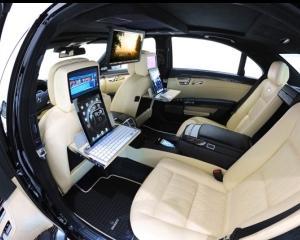 Brabus iBusiness 2.0, un Mercedes obsedat de Apple, care