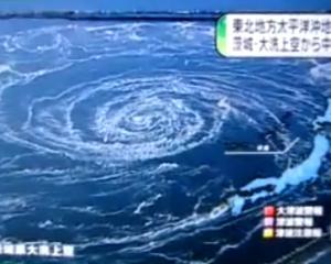 JAPONIA: Valurile seismice au creat un urias vartej