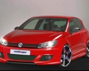 Volkswagen Golf 7 a primit un tratament de la Oettinger