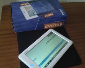 Manager.ro Hands-On: Tableta romaneasca Evolio EvoTab TB-1