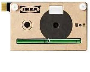 Ikea a fabricat o camera digitala din carton