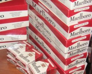 Inspectorii vamali din Bucuresti au confiscat 207.500 de pachete de tigari