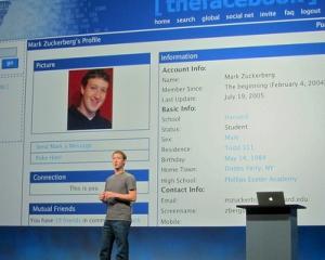 Fostii tehnicieni de la Apple lucreaza cu Zuckerberg la telefonul Facebook