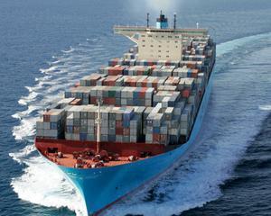 Daewoo construieste cel mai mare vapor din lume. Gigantul va avea o lungime de 400 de metri si va putea cara 18.000 de containere