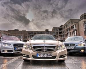 Vanzarile Audi, BMW si Mercedes au crescut cu peste 10% in 2010