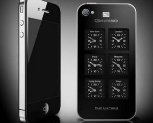 Acest iPhone 4 de 6.000 de dolari are sase ceasuri mecanice pe partea din spate