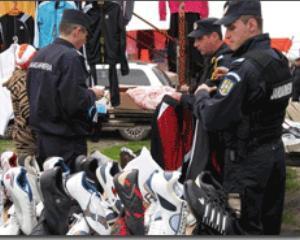 Haine contrafacute in valoare de 300.000 de lei - confiscate