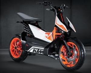KTM transforma banalul scuter intr-un vehicul cu personalitate