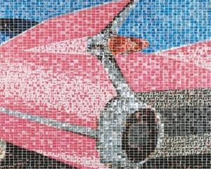 Tablourile lui Jeff Ivanhoe, omul care transforma dozele de Cola in arta