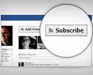 Facebook ne va permite sa urmarim activitatea oamenilor pe care nu-i avem in lista de prieteni