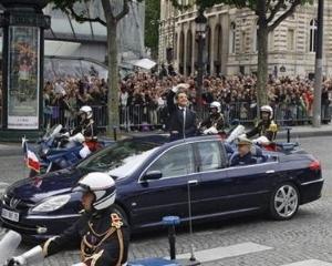 Nicolas Sarkozy, un conducator indisciplinat... al masinii