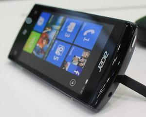 Acer a prezentat primul sau telefon cu Windows Phone Mango