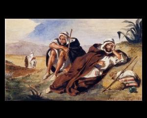 Un tablou al lui Delacroix furat la Paris