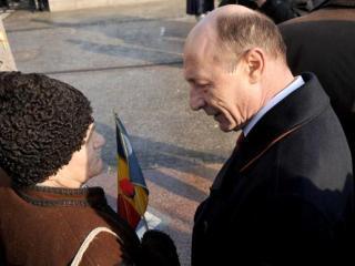 Traian Basescu: Nu vin la aceste adunari nici pentru aplauze, nici pentru fluieraturi