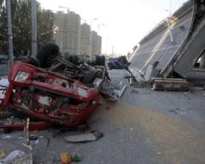 Si chinezii gresesc: o autostrada din China s-a prabusit dupa zece luni de la constructie!