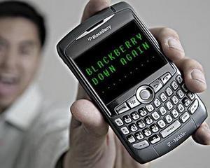 Nori negri deasupra RIM: Capitalizarea bursiera a producatorului BlackBerry este mai mica acum decat valoarea activelor sale