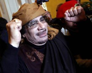 Gadhafi i-a spus Greciei ca nu mai vrea sa lupte