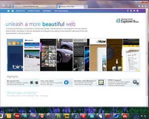 Microsoft a lansat versiunea finala a browserului IE9