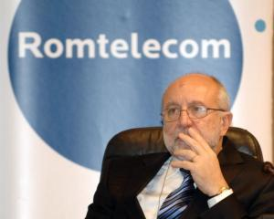 Veniturile Romtelecom au scazut cu 2,3% in priumul trimestru. Compania a castigat clienti pe internet si televiziune
