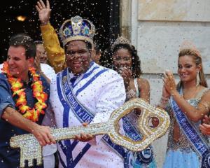 A inceput carnavalul de la Rio