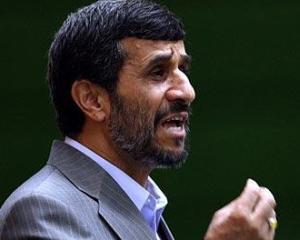 Presedintele Iranului, Mahmoud Ahmadinejad: SUA si Israel nu vor mai putea influenta Orientul Mijlociu