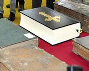 Comori bibliografice - expozitie-eveniment, cu editii de carte rara