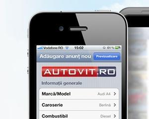 Peste 60.000 de utilizatori de iPhone si iPad folosesc aplicatia Autovit.ro