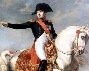 Document UNIC, semnat de Napoleon Bonaparte
